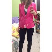 Blazer Zara Preto Pink Colors Importado No Brasil