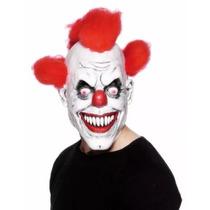 Mascara Látex Palhaço Assassino Terror Assustador Pegadinha