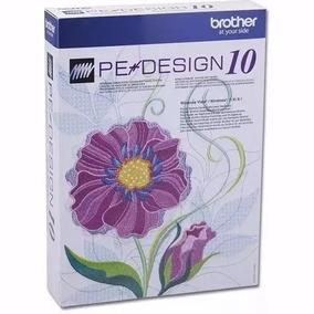 Pe Design 10 Brother Español + Pack De 150 Bordados