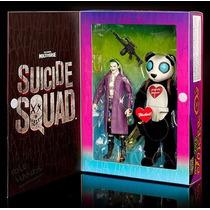 Suicide Squad Sdcc 2016 Set Dc Multiverse Pack Joker & Panda