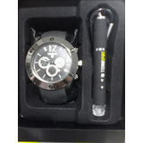 Reloj Tswatch By Technosport Con Lampara Y Apuntador Láser