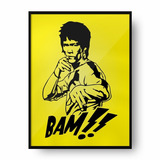 Cuadro Deco Bruce Lee (d0776 Boleto Store)