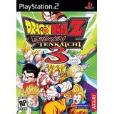 Dragonball Z - Budokai Tenkaichi 3 (ps2) / Playstation 2!!