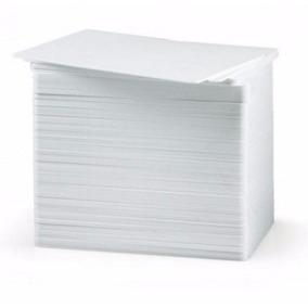 Tarjetas De Pvc Zebra, Color Blanco, Tarjeta