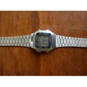 Reloj Casio A178w Plateado Usado Barato Envio Gratis