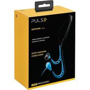 Fone De Ouvido Pulse Esportivo Arco Azul Estereo C/microfone