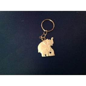 10 Dijes De Elefante En Color Marfil