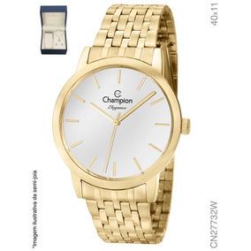 6faa599996c Kit Relogio Colar E Brinco - Relógio Champion Feminino em Tocantins ...
