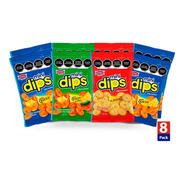 Mini-dips Sazonados 8/50g.- Galletas Dondé
