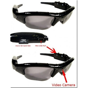 Óculos De Sol Espião Camera Espiã Filma