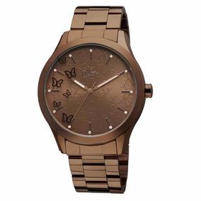 Relógio Pulso Allora Marrom - Modelo Al2035ib/4m