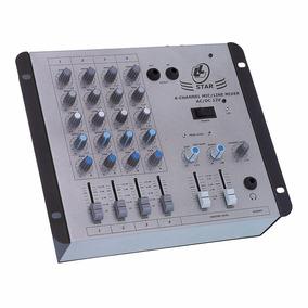 Mesa De Som Mixer Star Ll Audio Star 4 12v (127/220v/12v)