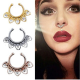 Septum Fake Falso Piercing Nariz