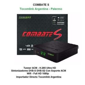 Tocomsat Combate S Hd Acm H265 Tocomlink Argentina