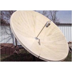 Antena Parabólica De 2.40 Metros Completa Con Su Base