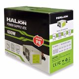 Fuente De Poder Halion Atx-600w P8 Tda. Surco - Wilson