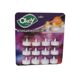Velas Led Okey 12 U.