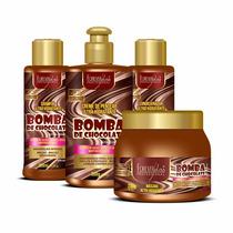 Kit Bomba De Chocolate Forever Liss + Brinde