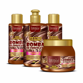 Kit Bomba De Chocolate Forever Liss + Brinde