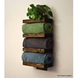 Repisa Para Baño Mod B01 Green Life Muebles