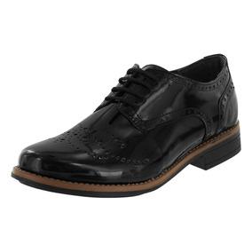 Zapato Bostoniano Negro Dama Mujer Juvenil Dorothy Gaynor