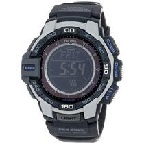 Prg Cr Casio Hombre \pro Trek\ Resina Reloj Solar Digital