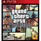Gta San Andreas Remasterizado Hd Ps3 Digital En Español