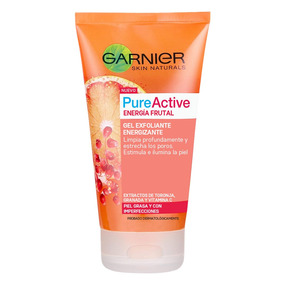 Gel Facial Exfoliante Energizante Pure Active Garnier