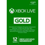 Xbox Live Gold 12 Meses Xbox 360 One Colombia Usa Código Jxr