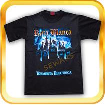 Remera De Rata Blanca Tormenta Electrica- Rock-heavy Metal