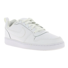 Tenis Nike Court Borough Low Blanco Mujer 844905-110