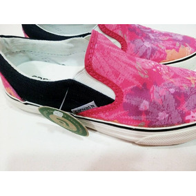 Panchas Canvas Mujer Lona Oferta 35/40