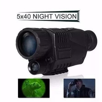 Monocular Noturno Megapixels 5 X 40 Noite Digital Vision