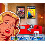 Placa Retro Filme Decorativa Pvc 3mm 25x15cm Compre5 Leve6