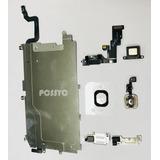 Kit Reparacion Iphone 6 Home Blindaje Camara Bocina
