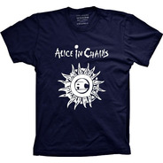 Camiseta Alice In Chains Tams. Plus Size G1 G2 G3 G4