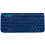 Logitech K380, Teclado Bluetooth Multi-dispositivo - Azul