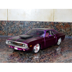 1970 Dodge Challenger R/t Coupe Maisto 1/24 Mundial Hobby