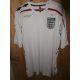 Camiseta Seleccion De Inglaterra 2007/08