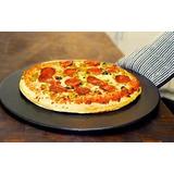 Negro De Cerámica De 15 Pulgadas De Piedra Pizza Por Patrimo