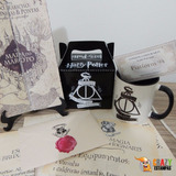 Kit Harry Potter N - 6 Itens + Carta Personalizável!