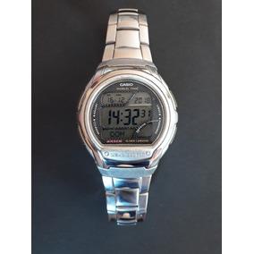 cfe9ca60047 Relogio Casio Oceanus Blue Waves T1000 Masculino - Relógio Casio ...