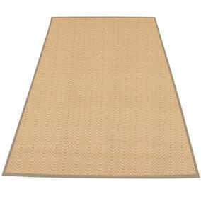 Tapete Passadeira Bambu 1,80x1,20 Decoração Bege