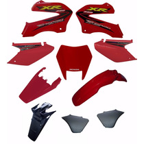 Kit Carenagem Adesivado Honda Xr 250 Tornado 2001 A 2005 10p