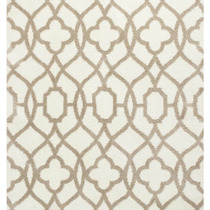 Alfombra / Tapete Oasis 1652 Ivory And Beige Ironwork Rug, 3
