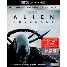 Alien Covenant Importado 4k Ultra Hd + Blu-ray + Digital Hd