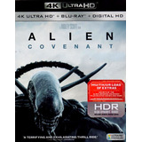 Alien Covenant Importado 4k Ultra Hd + Blu-ray + Digital Hd