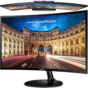 Monitor Slim Samsung Led 24 Pulg. F390 Full Hd / Vga / Hdmi