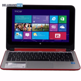 Notebook Hp Pavilion 11-n021br X360 2 Em 1 Touch (9508)