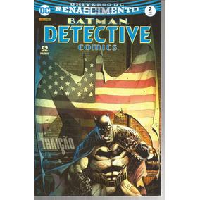 Detective Comics 2 Renascimento - Panini Bonellihq Cx367 G18